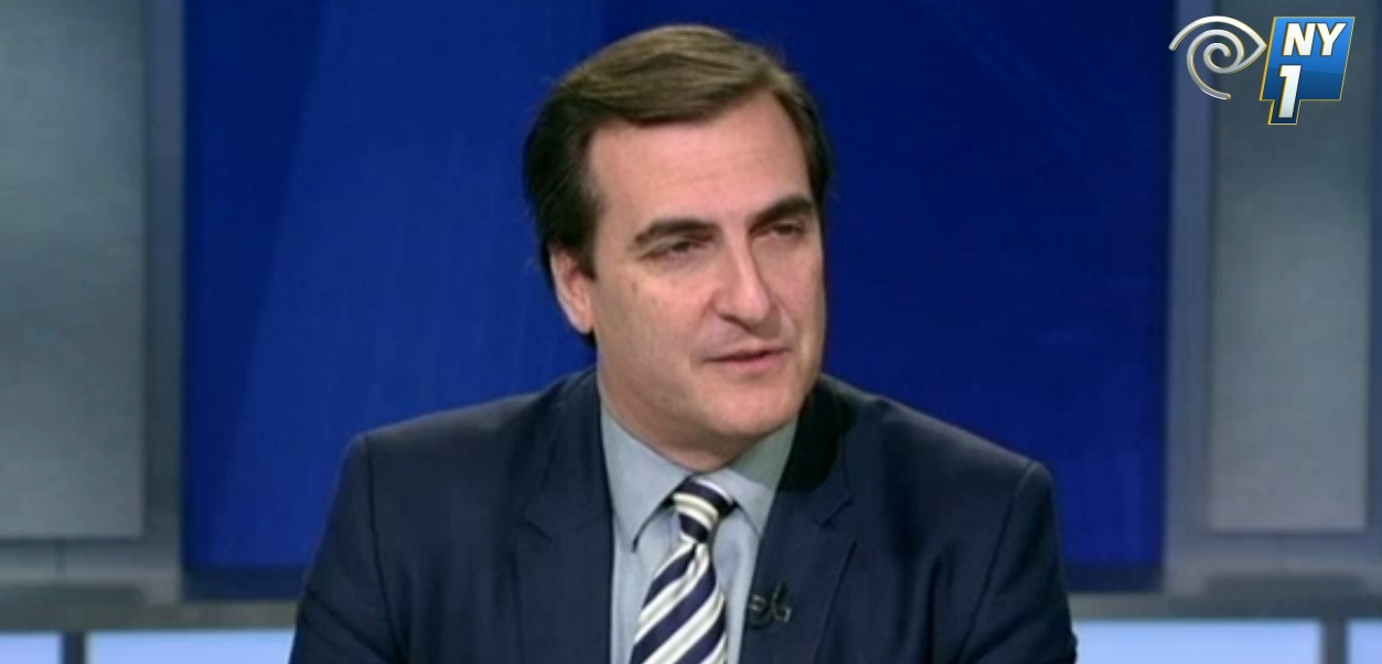 State Senator Michael Gianaris. (Photo: NY1)