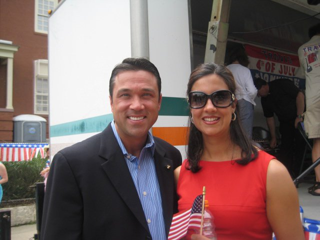 Congressman Michael Grimm with Assemblywoman Nicole Malliotakis (Facebook: Nicole Malliotakis).