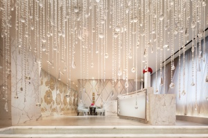 Before your Guerlain Spa treatment begins, you'll wait in this sumptuous lobby