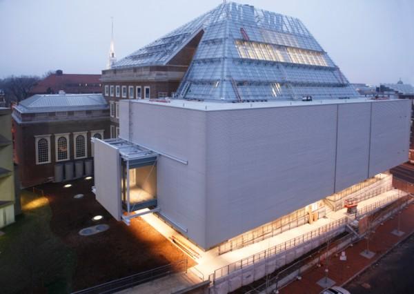 The Renzo Piano-designed Harvard Art Museums. (Courtesy Harvard University)