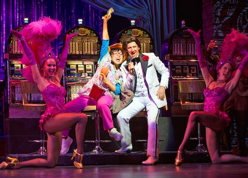Honeymoon in Vegas, opening Nov. 18, premiered at the Paper Mill Playhouse in 2013.