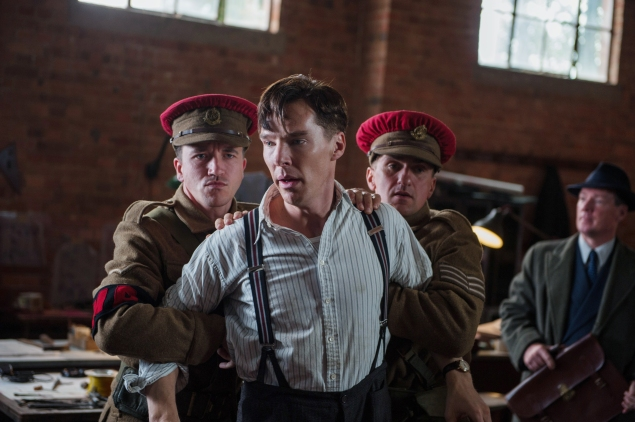 Benedict Cumberbatch plays Alan Turing in The Imitation Game.
