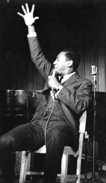 Bill Cosby at The Bitter End in Greenwich Village 1961(Photo by Jill Krementz)