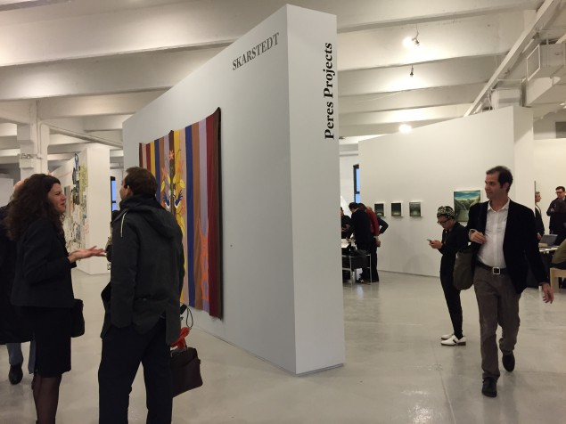 Independent Projects opened to press and collectors on November 5, 2014. (Photo by Alanna Martinez)