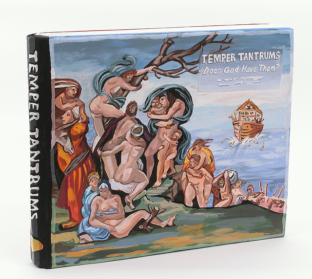 Jean Lowe, Temper Tantrums (2014), McKenzie Fine Art, Booth C12. (Courtesy McKenzie Fine Art via Artsy and Pulse Contemporary Art Fair)