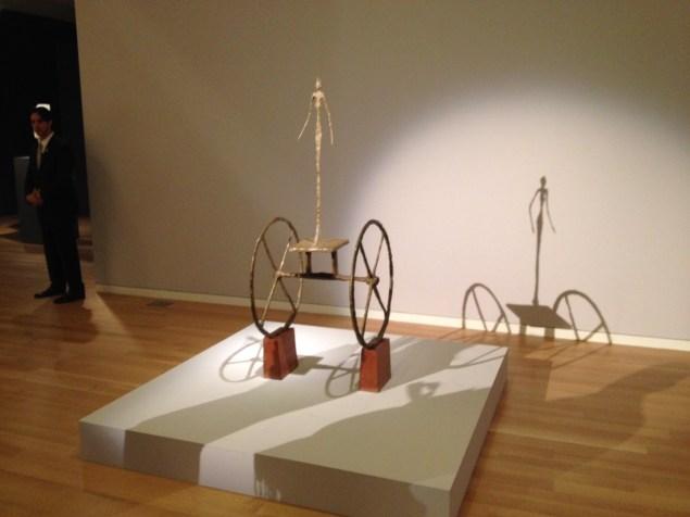 Alberto Giacometti, Chariot