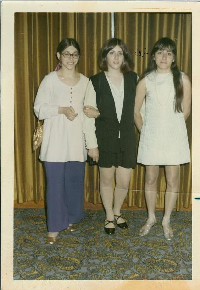 The Gordon sisters at Ricky's Bar Mitzvah
