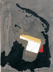 Robert Motherwell, Papeteries, 1975. (Courtesy  of Paul Kasmin Gallery, in Cooperation with The Dedalus Foundation)