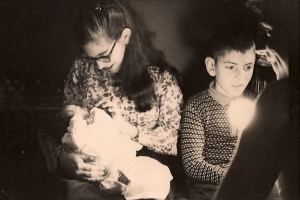 Ricky, Lorraine and baby Maggie