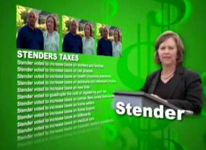 Linda Stender lost her Congressional race in a year in which Democrats almost couldn't lose. She's bounced back nicely. (Screencap/Lance for Congress ad)