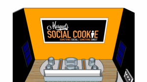 Mr. Martin's plans for the interior of Social Cookie. (Vimeo)