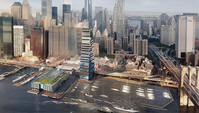 South Street Seaport highrise plans get a haircut.