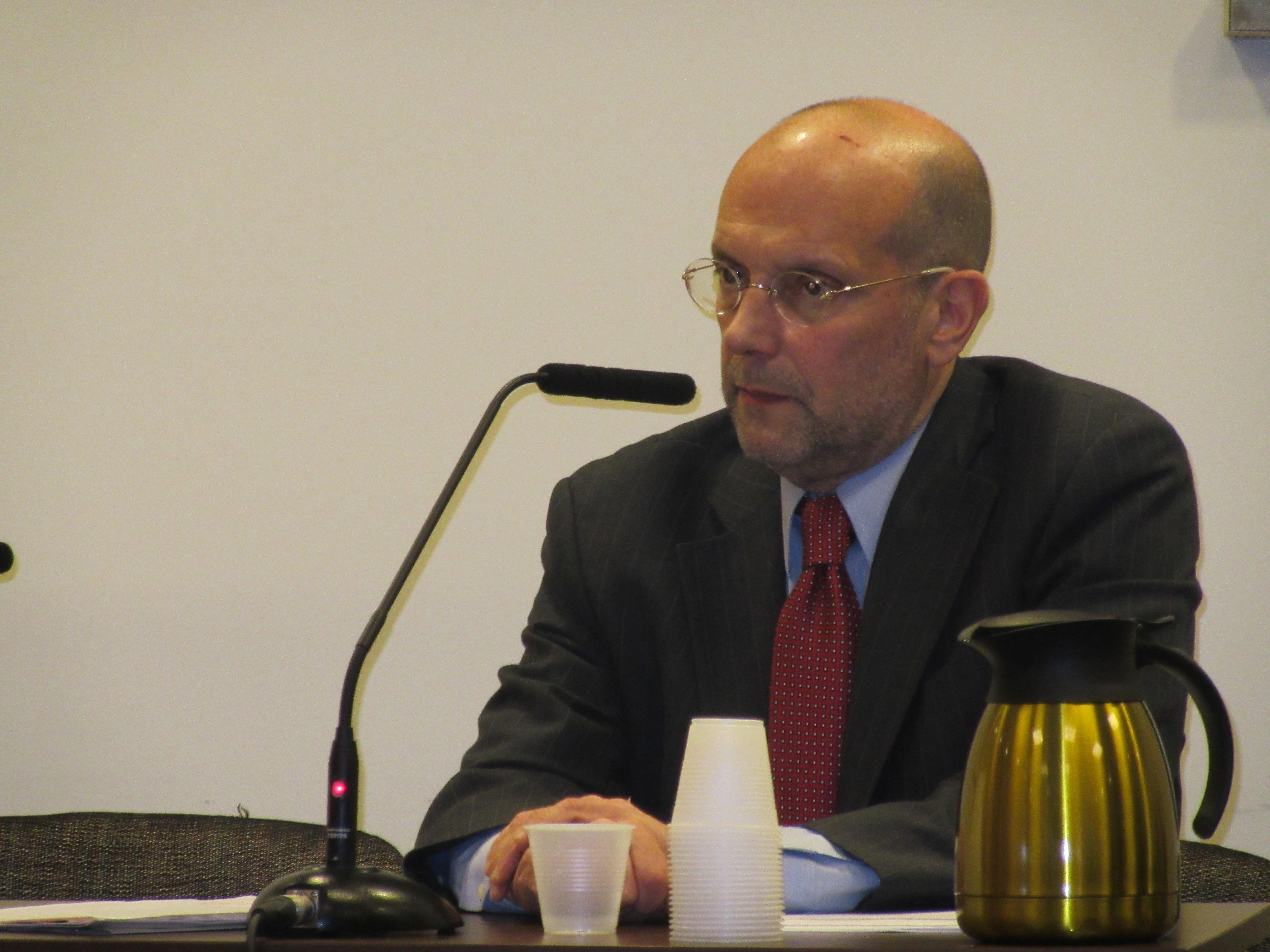 HRA Commissioner Steven Banks (Photo: Will Bredderman).
