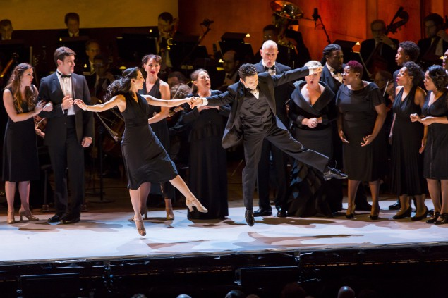 The New York Philharmonic's Show Boat is being done concert-style. (Photo by Chris Lee)