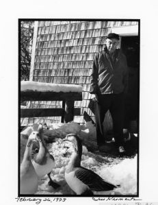 """EB White told the photographer, Jill Krementz, """"I like animals and it would be odd if I failed to write about them. Animals are a weakness with me. When I got a place in the country I was quite sure animals would appear, and they did."""""""