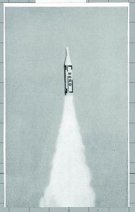 Illustration from ZERO 3 (July 1961), design by Heinz Mack (Photo courtesy Heinz Mack)