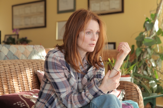Julianne Moore copes with the effects of a debilitating illness.