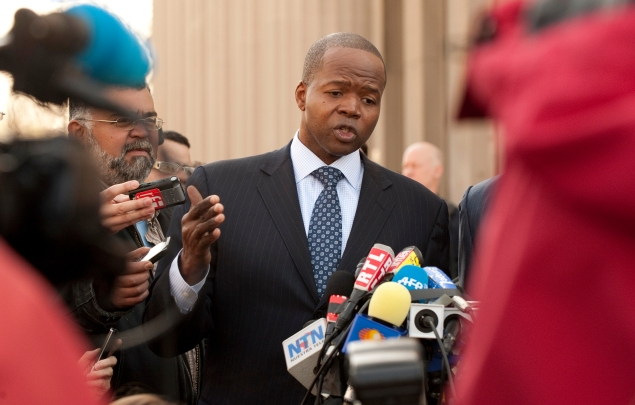 Brooklyn District Attorney Kenneth Thompson. (Photo: DON EMMERT/AFP/Getty Images)
