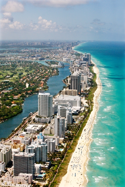 Miami Beach Coast, Florida (Photo via Getty Images)