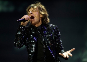 Mick Jagger (Photo by: Don Emmert/AFP/Getty Images).