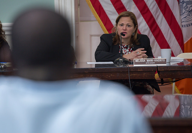 Council Speaker Melissa Mark-Viverito. (Photo: NYC Council/William Alatriste)