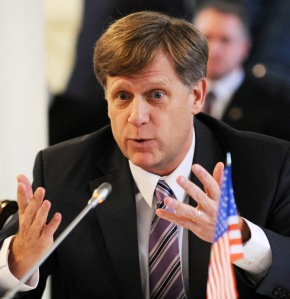 Former US ambassador to Russia Michael McFaul was considered a lightweight who spent more time on Twitter than on actual diplomacy. (YURI KADOBNOV/AFP/Getty Images)