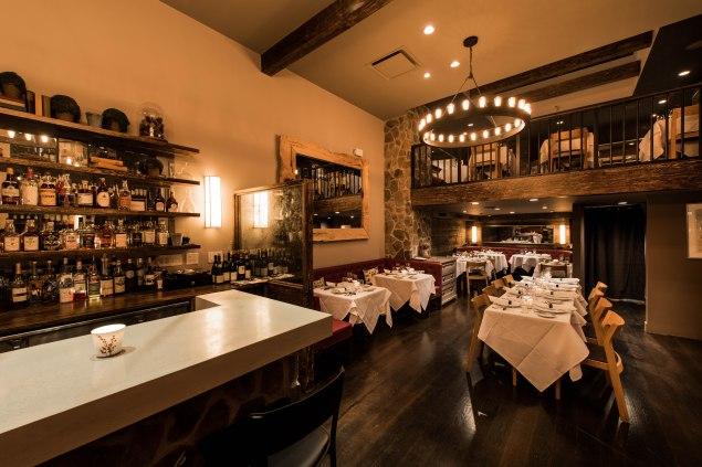 The interior of Almanac, chef Galen Zamarra's West Village restaurant, which opened in November. (Photo by Francesco Sapienza)