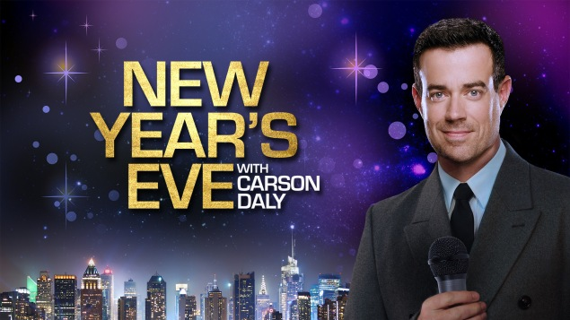 New Year's Eve with Carson Daly. (NBC)