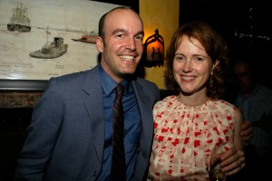 Sean Wilsey and Daphne Beal. (Patrick McMullan)
