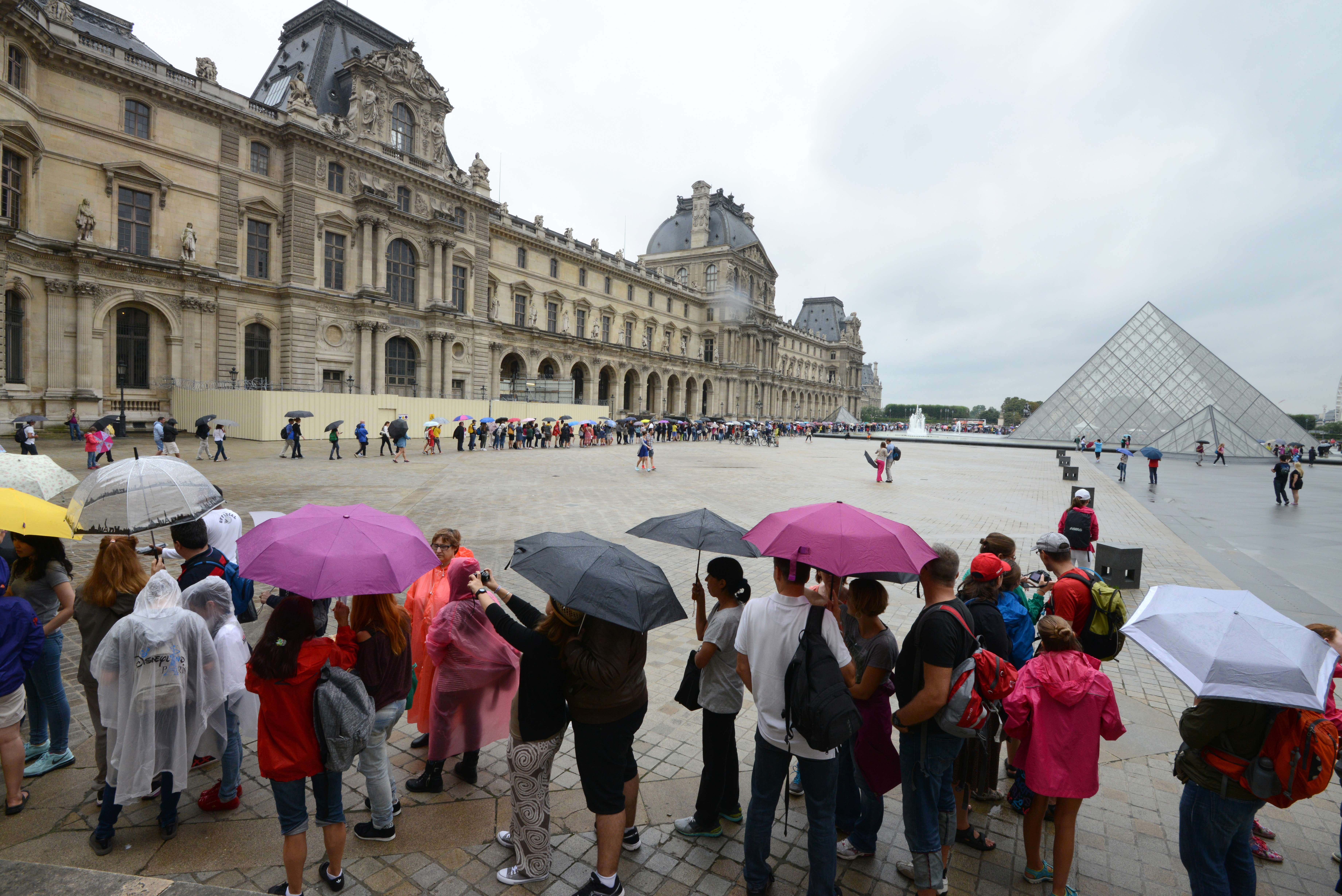 The Louvre. (Photo courtesy Getty Images)