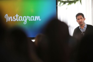Instagram CEO Kevin Systrom sez selfies RULE! (Photo by Spencer Platt/Getty Images)