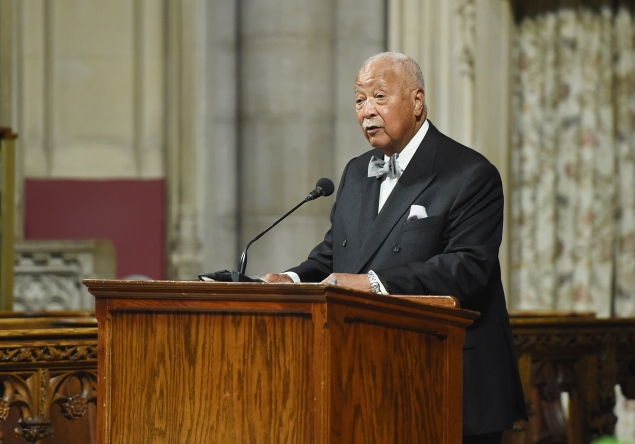 David Dinkins. (Photo: Mike Coppola/Getty Images)