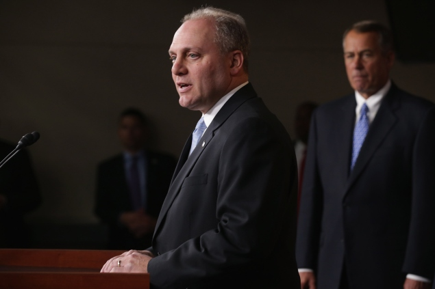 House Majority Whip Steve Scalise (R-LA). (Photo by Chip Somodevilla/Getty Images)