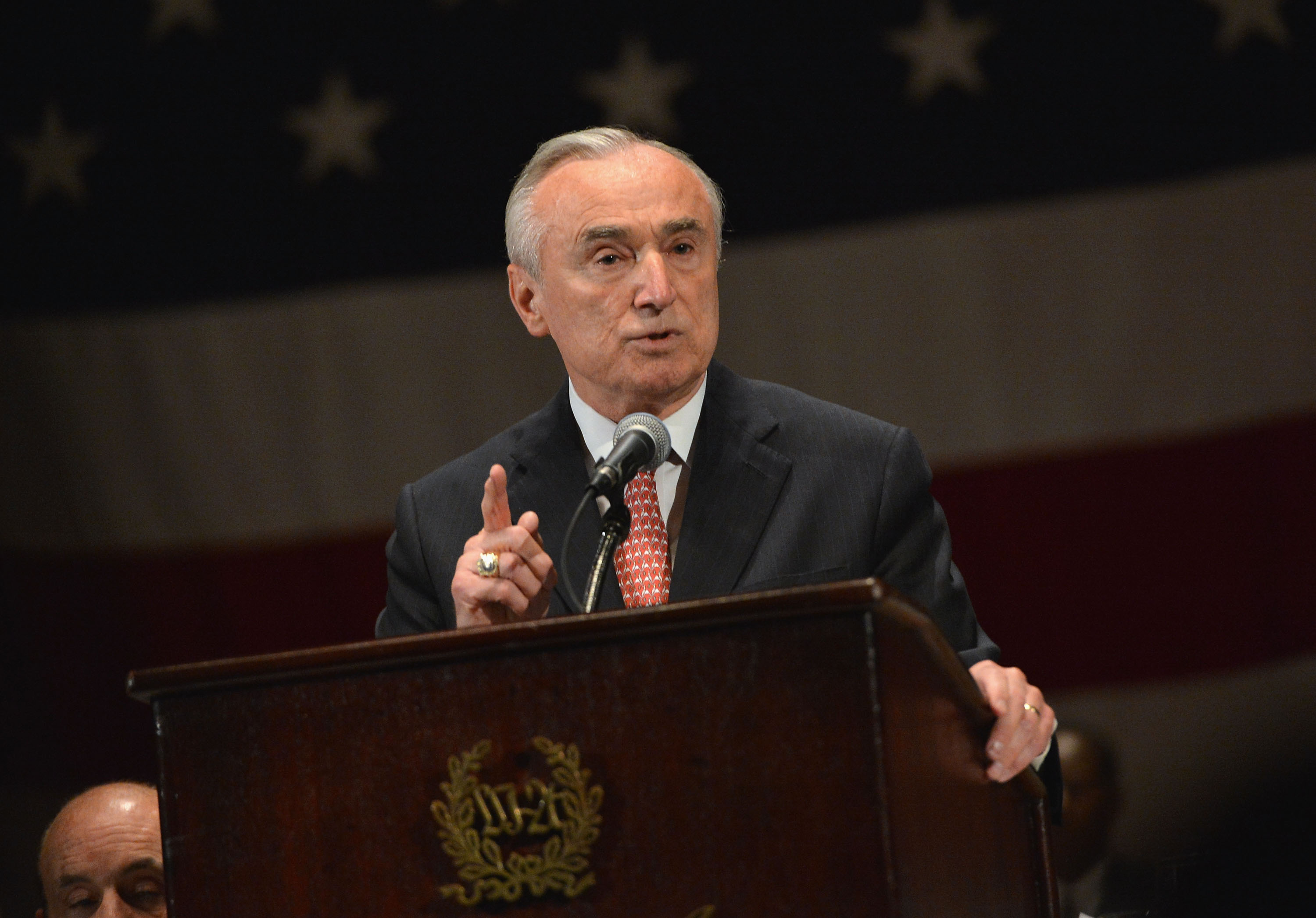 Police Commissioner Bill Bratton. (Photo:  Slaven Vlasic/Getty Images)