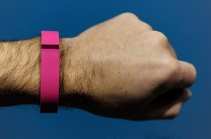 The FitBit Flex. (Getty Images)