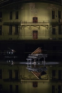 tears become...streams become...at The Park Avenue Armory. Photo by James Ewing.)