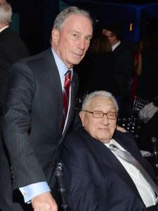 Michael Bloomberg and Henry Kissinger