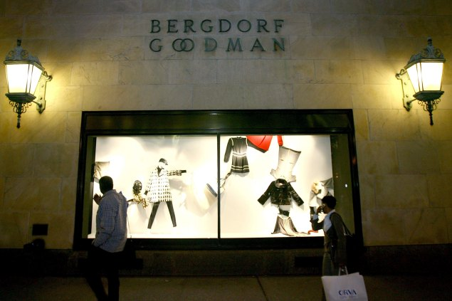 The Bergdorf Goodman building is one of 96 potential-landmarks that might be taken off the Landmark Preservation Commission's calendar (Scott Wintrow/Getty Images)