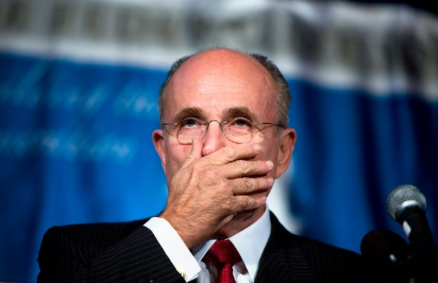 Former Mayor Rudolph Giuliani. (Photo:  Brendan Smialowski/Getty Images)