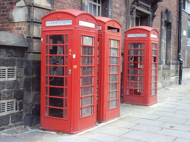 The U.S. should import British phone booths (photo: Wikipedia)