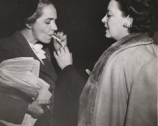 Smokers in 1944, back when cigarettes were cheap. (Photo via Getty Images)