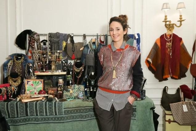 Ms. Wolffer in her Upper East Side pop-up shop. (Photo via BFA)