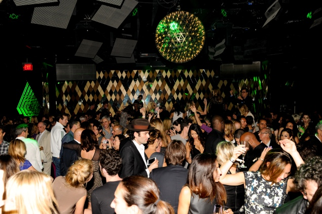 The scene at Metamorphosis, a party hosted by Dom Perignon at WALL during Art Basel Miami Beach. (Photo courtesy Billy Farrell)