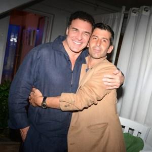 Andre Balazs and Andre Saraiva (Photo by Madison McGaw/BFAnyc.com)