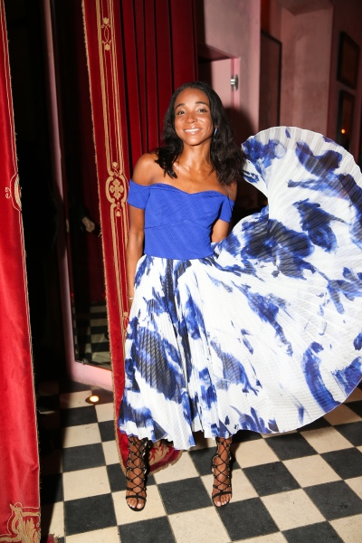 Designer Genevieve Jones. (Photo via BFAnyc.com)