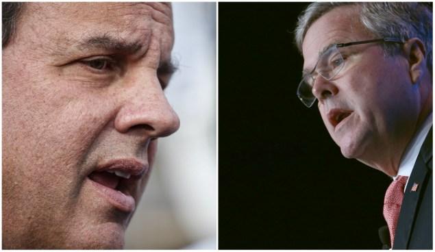 Bush and Christie