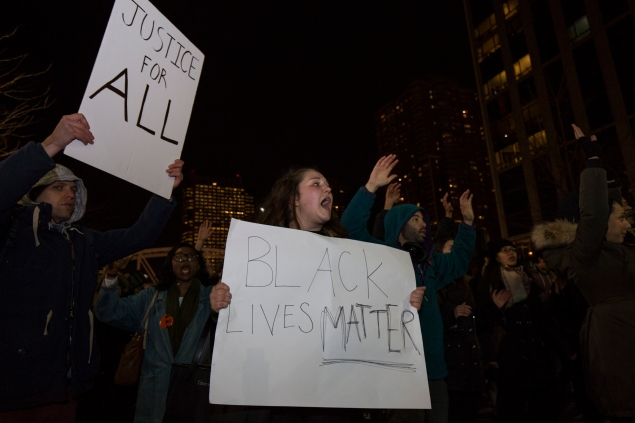 Protesters flooded New York City streets after the Eric Garner grand jury decision. (Photo: Daniel Cole)