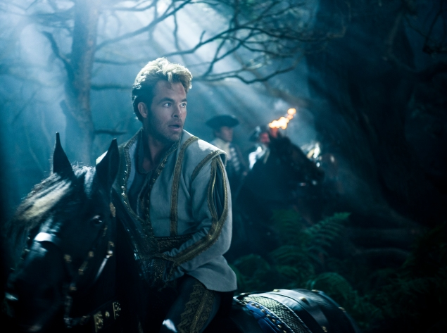 Chris Pine stars as Cinderella's Prince in Into the Woods.
