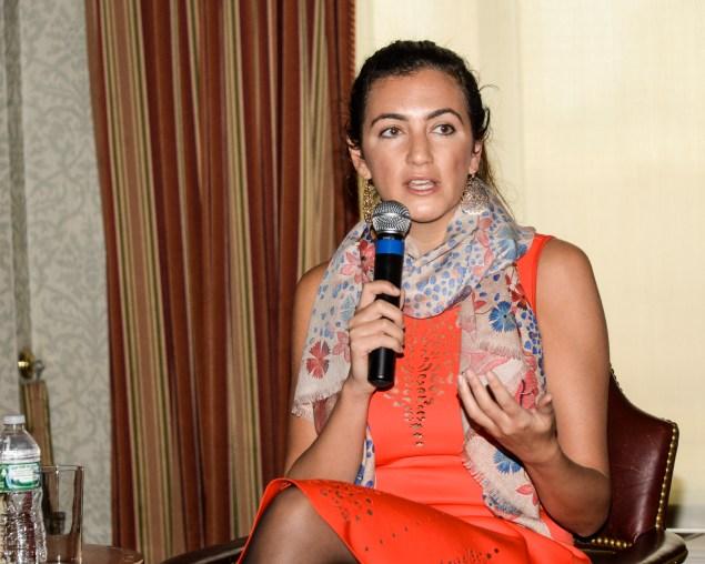 Jennifer Hyman was a panelist. (Photo via Dress for Success)