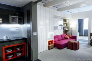 A micro-unit. Museum of the City of New York.